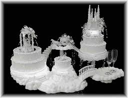 centerpieces castle cake will command attention at your head table