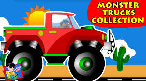 monster truck cartoon videos top 10 monster trucks monster trucks collection trucks videos