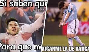 Memes De Lionel Messi - sin piedad los mejores memes del penal perdido de lionel messi