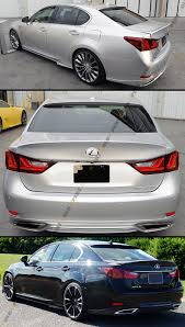lexus ebay usa wd style rear trunk duckbill spoiler lid wing for 2013 2015 lexus