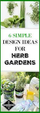 Herb Garden Design Ideas Six Simple Design Ideas For Herb Gardens Gardening Channel