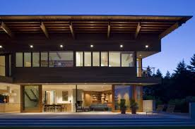 wooden modern houses seattle modern house design cozy corner