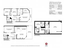 The Panorama Floor Plan by Fantastic Deep Cove House With Great View