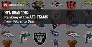 what nfl team has the most fans nationwide nfl branding ranking of the afc teams from worst to best