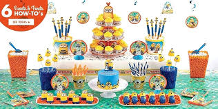 minion baby shower decorations minions birthday party decorations minion party decorations