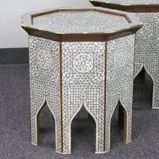 Moroccan Side Table 70 Best Inlaid Table Moroccan Syrian Egyptian Indian Turkish