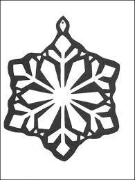 print flake decoration coloring pages free printable