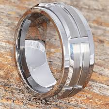 rings silver bands images Embrace 10mm tungsten spinner ring spinner style wedding band jpg