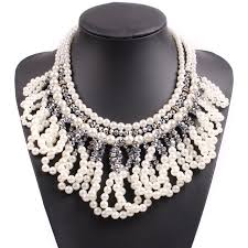 women necklace accessories images 2018 new design fashion big statement pendant choker collar chunky jpg