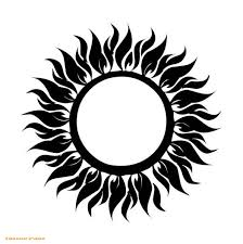 sol tribal tattoo free tattoo sun flame tribal design collection