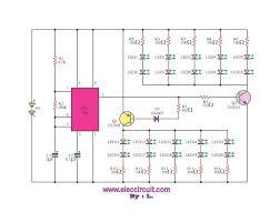 bike tail led light flashing u2013 electronic projects circuits