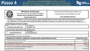 demonstrativo imposto de renda 2015 do banco do brasil sebrae previdência demonstrativo de ir passo a passo