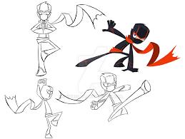 ninja costume color by kruzilla on deviantart
