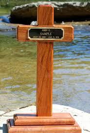 roadside crosses for sale woods up design memorial cross grave markers