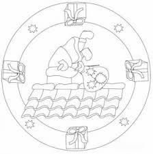 christmas mandala coloring pages 3 mandalas