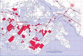 Map Of Ri Barrington Ri Myhometownmap Com