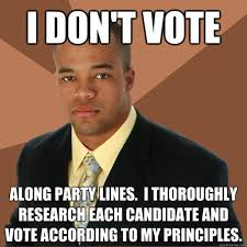 Funny Voting Memes - meme watch successful black man is borderline offensive but