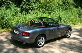 mazda convertible 90s italian roads instant classic car rent tuscany rent car