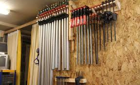 Wood Clamp Storage Rack Plans by Workshop Thiswoodwork