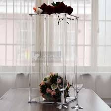 Wedding Centerpiece Stands by Acrylic Centerpieces For Wedding Candelabras Flower Stands