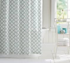 Shower Curtains Marlo Organic Shower Curtain Pottery Barn