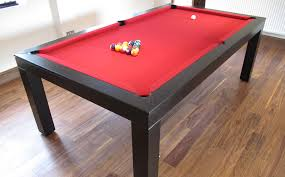 modern billiard table 7 u0027 english contemporary pool table in oak colour e4 black with a