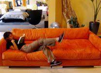 Orange Living Room Furniture Living Room - Orange living room set