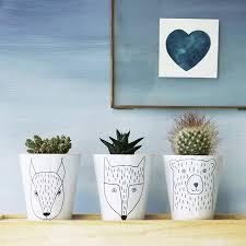 Animal Pots by Sourcing The Plant Pot Edit Cloverdesain