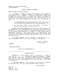 Special Power Of Attorney Definition by 100 Special Power Of Attorney Template Free Late Rent