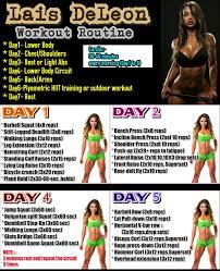 lais deleon workout routine monsterabs