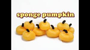 Halloween Pipe Cleaner Crafts Halloween Craft Mesh Sponge Pumpkin Quick U0026 Easy Youtube