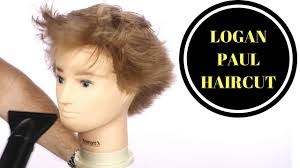 2 year hair cut logan paul haircut thesalonguy youtube