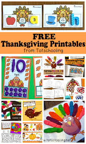 free thanksgiving printables for totschooling toddler