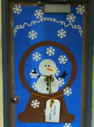 Front Door Decorations For Winter - decorating classroom for winter google search doors