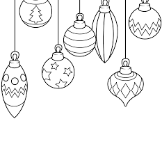 ornaments coloring book and draw color pages for