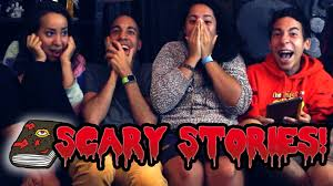 reading scary stories for halloween youtube