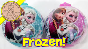 disney frozen ornament with and stickers time to