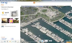 Birds Eye View Maps Bing Maps Online