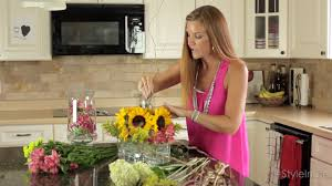 Flower Home Decoration by Diy Floral Arrangements Easy Home Decor Youtube