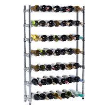 amazon com oenophilia epicurean wine rack storage system 7 row