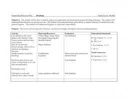 health sickness lesson plan documents plans for high