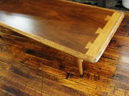 lane mid century modern coffee table lane mid century modern acclaim dovetail coffee table from