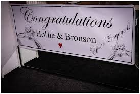 Congratulations Engagement Banner Enement Party Banners Birthday Party Ideas