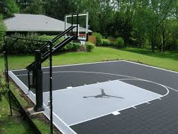 basketball courts with lights near me jordans12 39 on buckets basketball court and backyard basketball