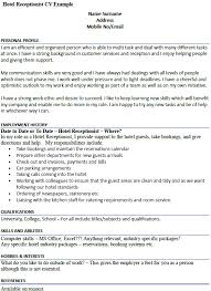 gym receptionist cover letter example icover org uk front desk