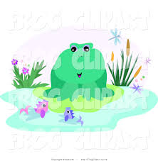 lily pad clipart fish pond pencil and in color lily pad clipart