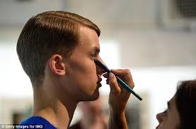 looking for makeup artist models get primped to perfection backstage at berlin fashion