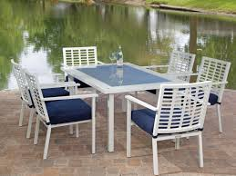 7pc Patio Dining Set - patio 63 8 person outdoor dining set patio dining sets