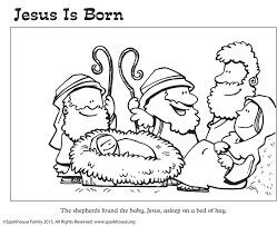 birth of jesus coloring page the free christmas coloring series continues sparkhouse family blog