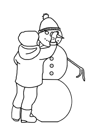 13 images of building a snowman coloring pages spongebob